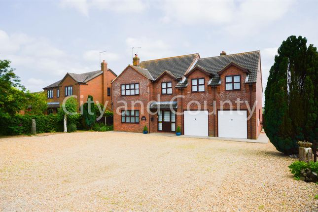 Detached house for sale in Dowsdale Bank, Whaplode Drove, Spalding