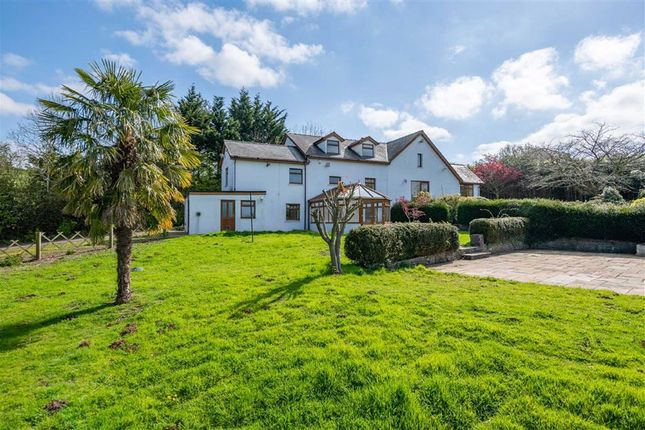 Thumbnail Detached house for sale in Llandegveth, Newport