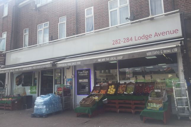 Thumbnail Retail premises for sale in Lodge Avenue, Dagenham