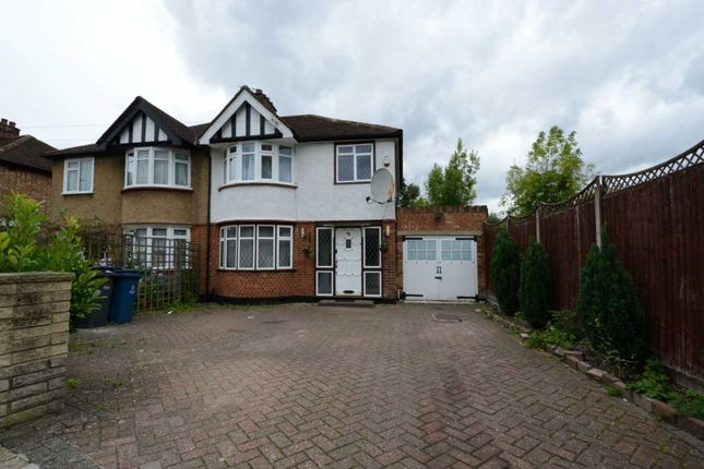 Thumbnail Semi-detached house to rent in Belsize Road, Harrow Weald, Harrow