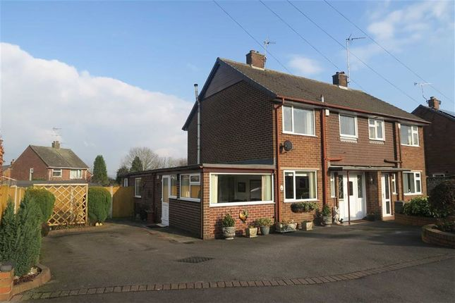 Thumbnail Semi-detached house for sale in Highfield Avenue, Cheadle, Stoke-On-Trent