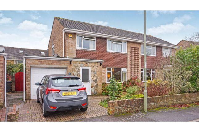 Thumbnail Semi-detached house for sale in Springcroft, Gosport