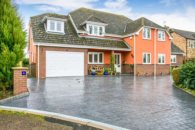 Thumbnail Detached house for sale in Maiden Stile Close, March