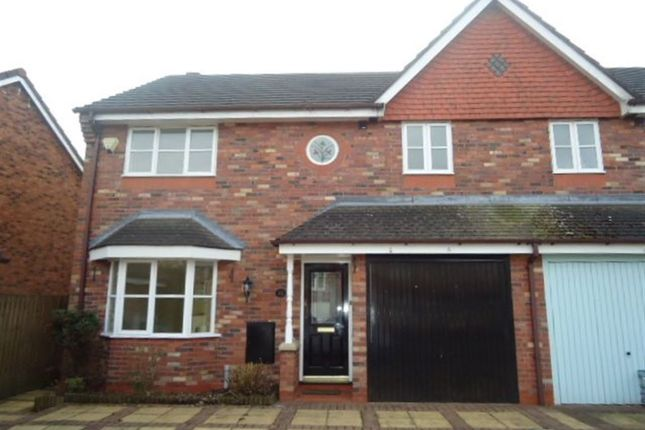 Thumbnail Property to rent in Beamish Close, Appleton, Warrington.
