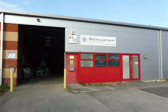 Thumbnail Light industrial to let in Unit E, 41 Valley Road, Plymouth, Devon