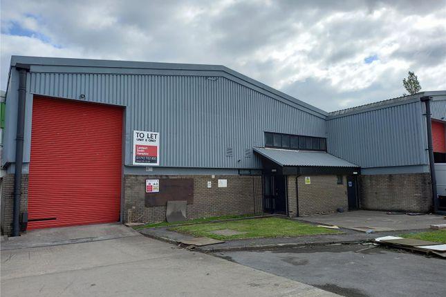 Thumbnail Warehouse to let in Unit 8 Plasmarl Industrial Estate, Beaufort Road, Swansea Enterprise Park, Swansea, Wales
