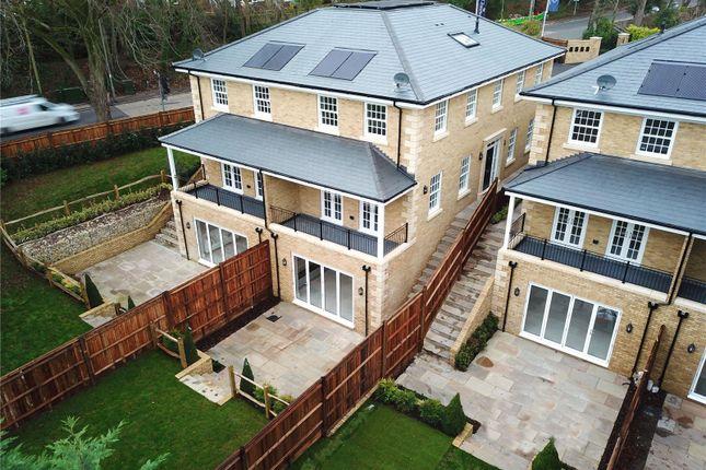 Thumbnail Semi-detached house for sale in Chilbolton Avenue, Winchester, Hampshire