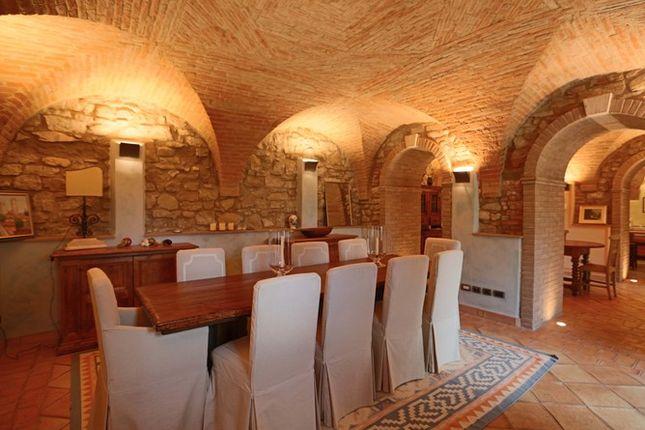Dining of Il Conventaccio, Todi, Umbria