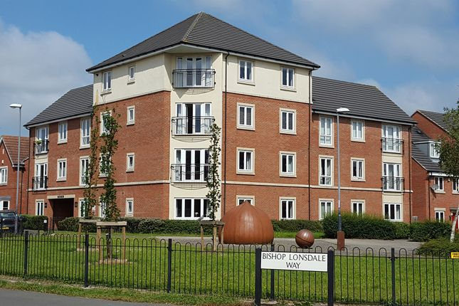 Thumbnail Flat for sale in Bishop Lonsdale Way, Mickleover, Derby