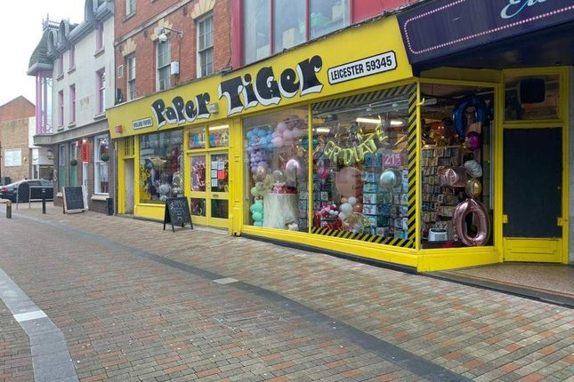 Thumbnail Retail premises for sale in Cank Street, Leicester