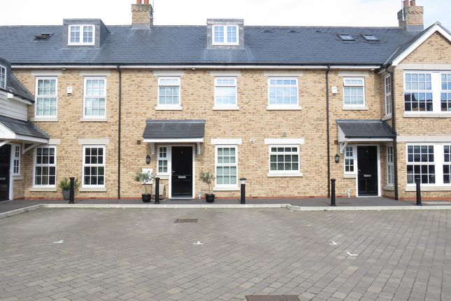 Thumbnail Town house for sale in Usborne Mews, Writtle, Chelmsford