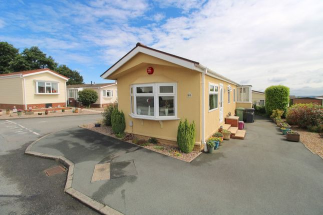 Thumbnail 2 bed mobile/park home for sale in Lesley Way, Hill Tree Park, Crosland Hill, Huddersfield