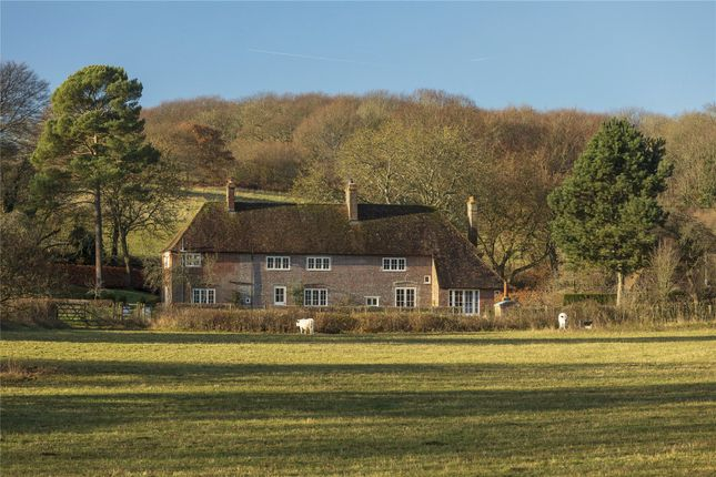 Thumbnail Country house for sale in Lyddendane Lane, Hastingleigh, Ashford, Kent
