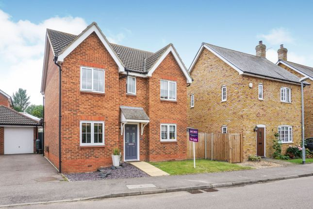 Thumbnail Detached house for sale in Gregory Close, Meppershall, Shefford