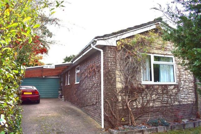Thumbnail Detached bungalow for sale in Bourne Vale, Hungerford