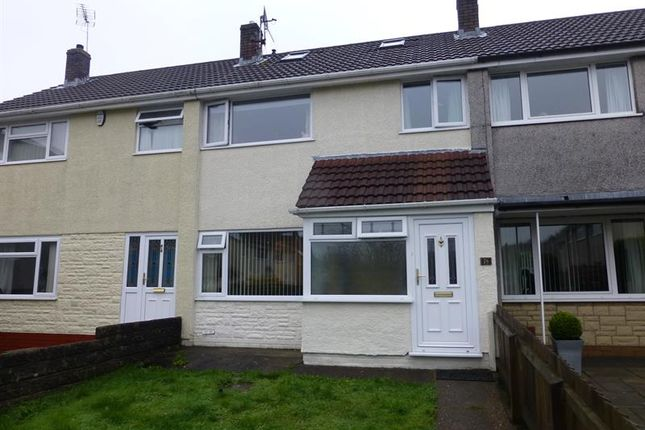Thumbnail Semi-detached house to rent in St. Christophers Drive, Caerphilly