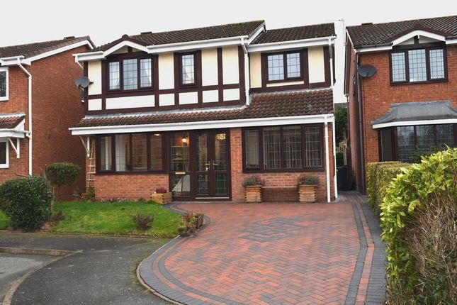 4 bed detached house for sale in Firecrest Drive, Apley, Telford, Shropshire