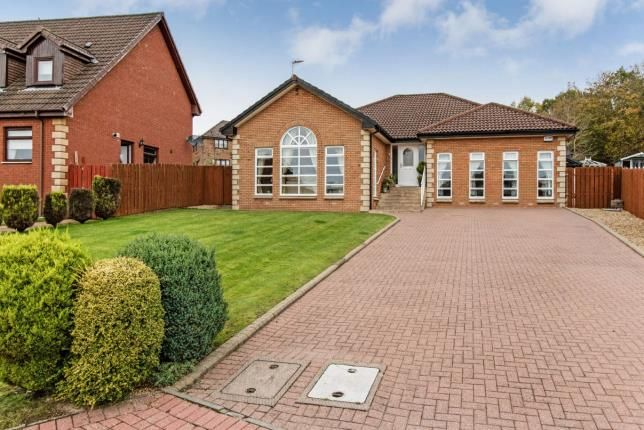 Thumbnail Bungalow for sale in Nagle Gardens, Dalziel Park, Motherwell, North Lanarkshire