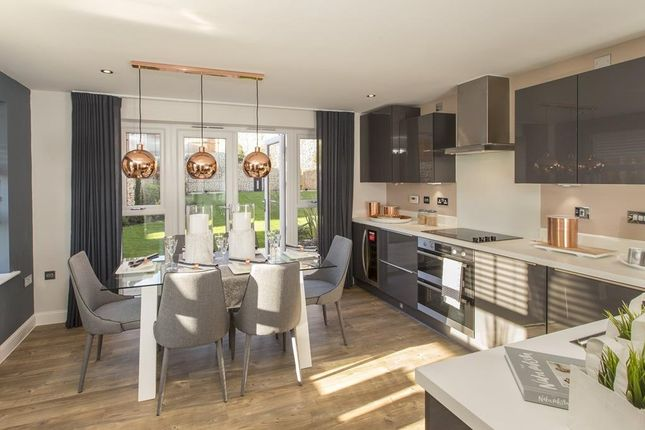 "Thumbnail End terrace house for sale in ""Brentford"" at Rhodfa Cambo, Barry"