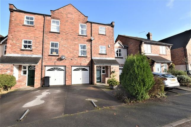 Thumbnail Terraced house for sale in Gosling Way, Congleton