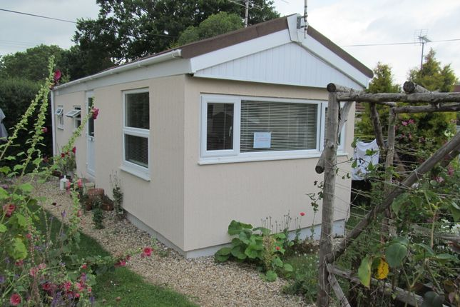 Thumbnail Mobile/park home for sale in Pitt Farm Park, Exeter Road, Spy Post