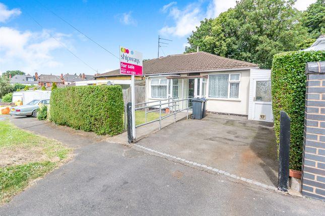Thumbnail Semi-detached bungalow for sale in War Lane, Harborne, Birmingham