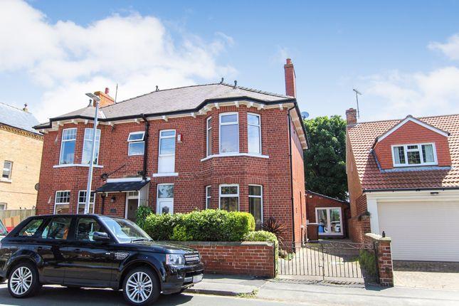 Thumbnail Semi-detached house for sale in Belvedere Road, Bridlington