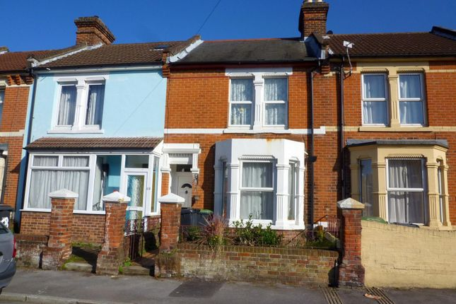 Thumbnail Terraced house to rent in Parham Road, Gosport