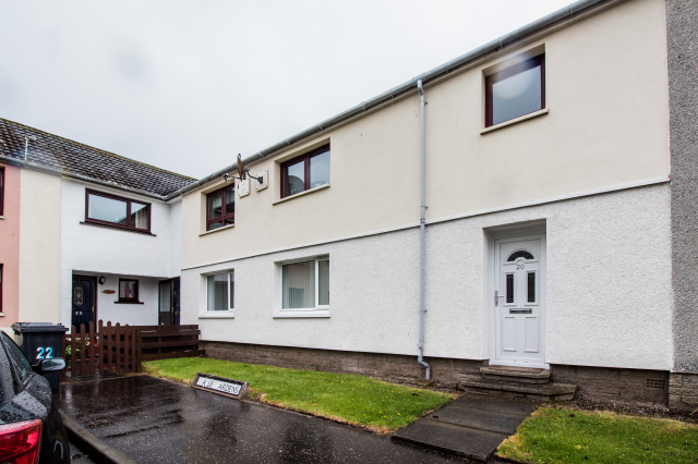 Thumbnail Flat to rent in 20 Maple Gardens, Arbroath