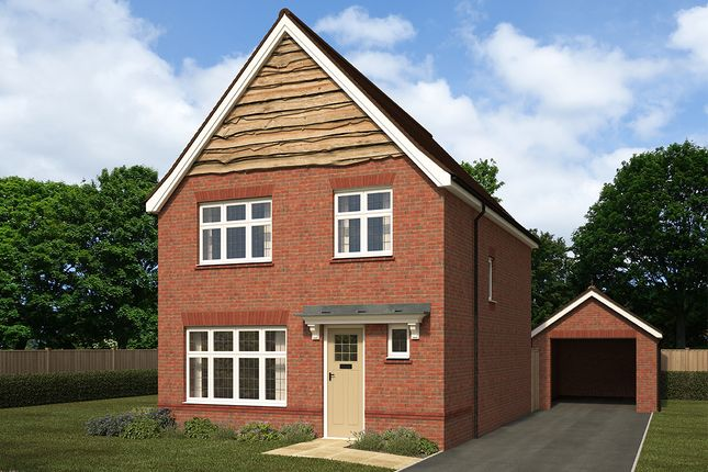 "Thumbnail Detached house for sale in ""Warwick"" at Ferard Corner, Warfield, Bracknell"