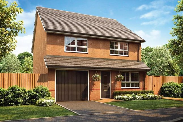 "Thumbnail Detached house for sale in ""Tewkesbury"" at Pewterspear Green Road, Appleton, Warrington"