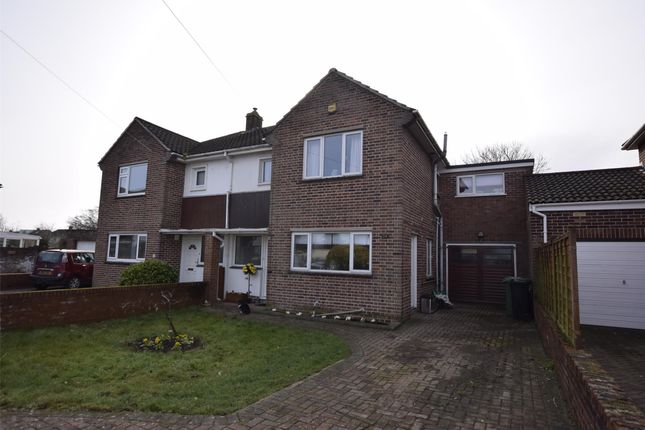 Thumbnail Semi-detached house for sale in Bourne Close, Winterbourne BS361Pl
