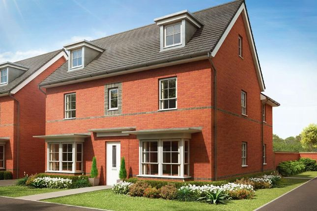 """Thumbnail Detached house for sale in """"Marlowe"""" at Pye Green Road, Hednesford, Cannock"""
