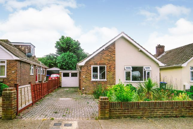 Thumbnail Detached bungalow for sale in Richington Way, Seaford