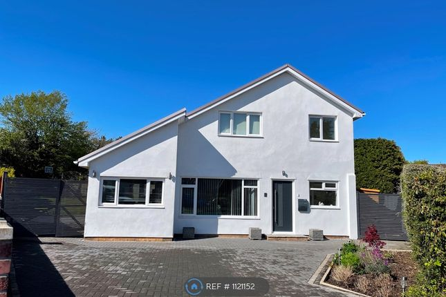 Thumbnail Detached house to rent in Cherry Tree Close, Lisvane, Cardiff