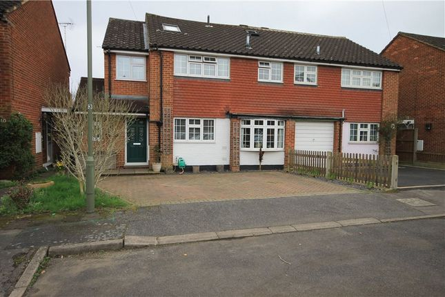 Thumbnail Detached house for sale in Brighton Close, Addlestone, Surrey