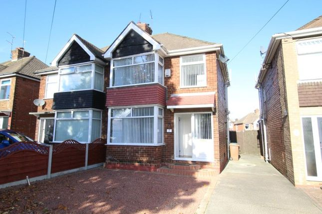 3 bed semi-detached house to rent in Northolme Road, Hessle HU13