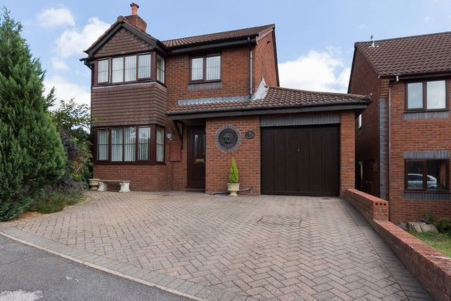 Thumbnail Detached house for sale in Lawn Drive, Chudleigh, Newton Abbot