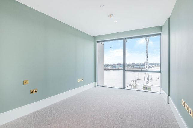Bedroom of No.3, Upper Riverside, Cutter Lane, Greenwich Peninsula SE10