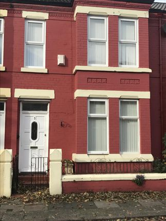 Thumbnail Terraced house to rent in Evered Avenue, Walton, Liverpool
