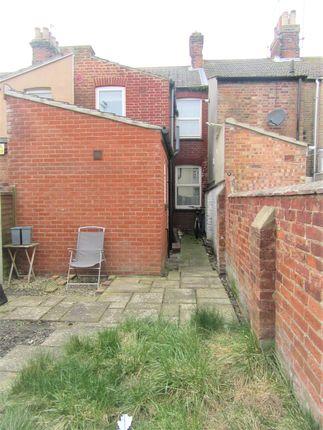 External Rear of Seago Street, Lowestoft NR32