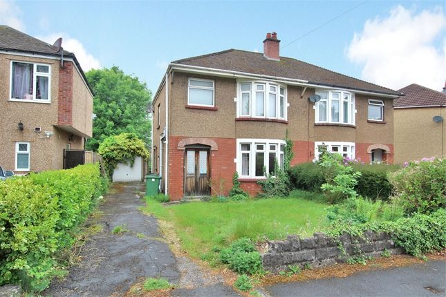 Thumbnail Semi-detached house for sale in Dan-Y-Coed Close, Cyncoed, Cardiff