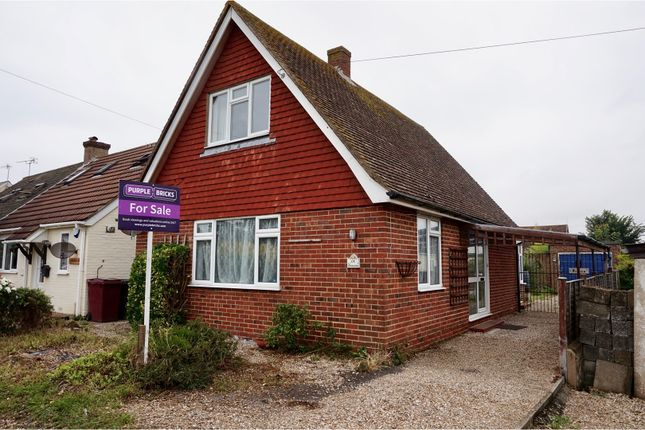 Thumbnail Detached house for sale in Lewis Road, Selsey