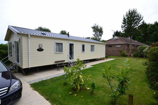 Thumbnail 3 bed mobile/park home for sale in West View, Far Grange Park, Skipsea, East Yorkshire