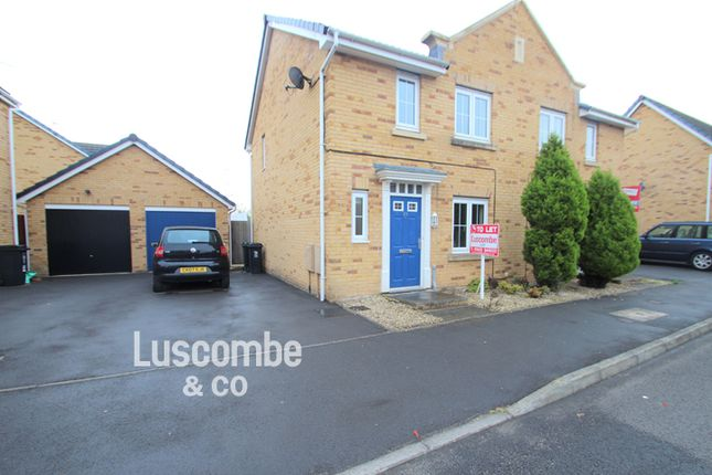 Thumbnail Semi-detached house to rent in Schooner Avenue, Gwent, Newport