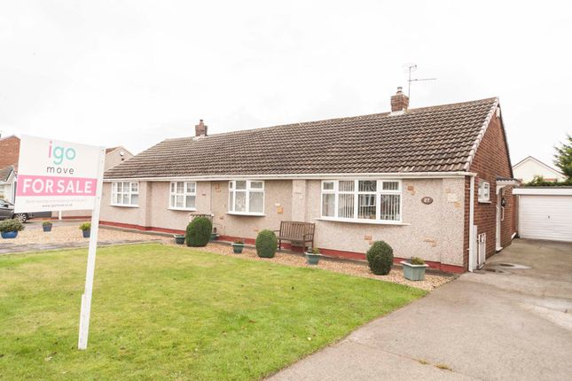 Thumbnail Bungalow for sale in Croxton Avenue, Hartlepool