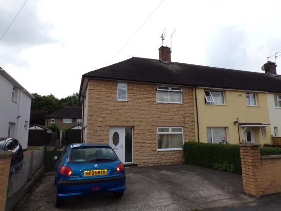 Thumbnail End terrace house for sale in Bransdale Road, Clifton, Nottingham, Nottinghamshire