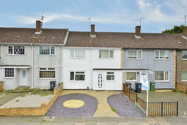 Thumbnail Terraced house for sale in Beanfield Avenue, Corby, Northamptonshire