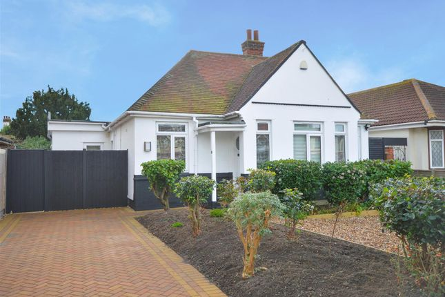 Thumbnail Detached bungalow for sale in Vicarage Gardens, Clacton-On-Sea