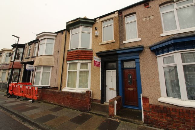 Thumbnail Terraced house to rent in Cornwall Street, Hartlepool